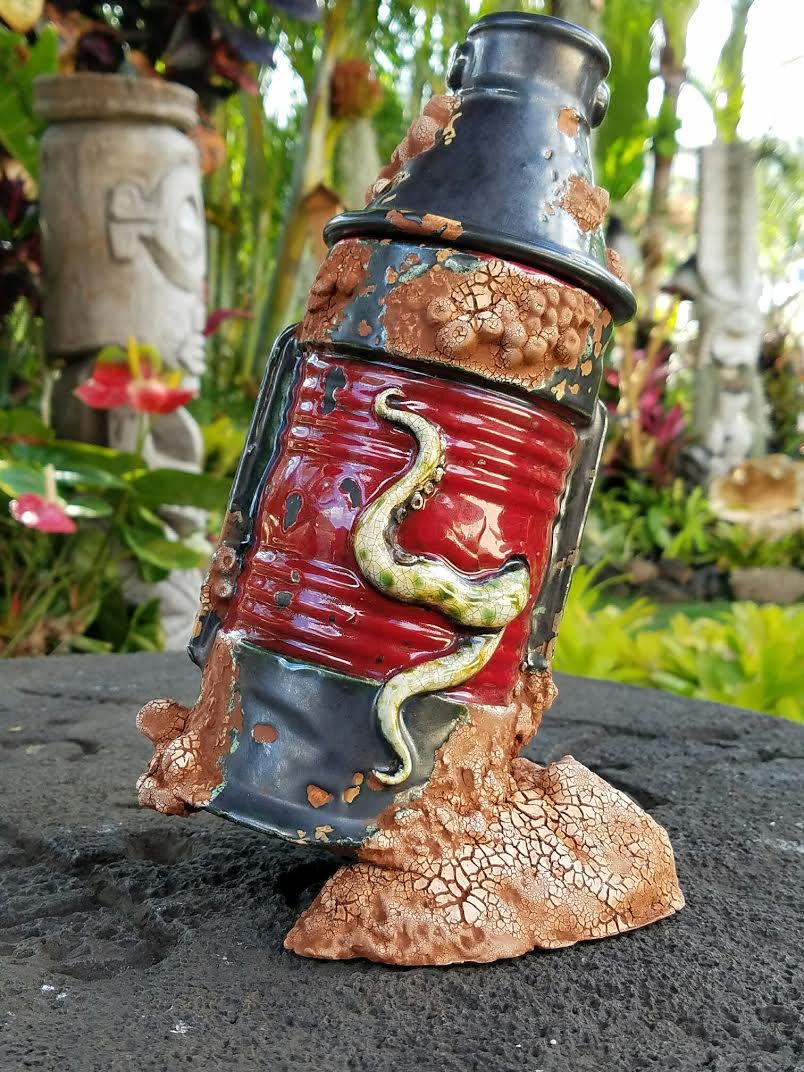 Nautilus Lantern Tiki Mug by Gecko and Squid