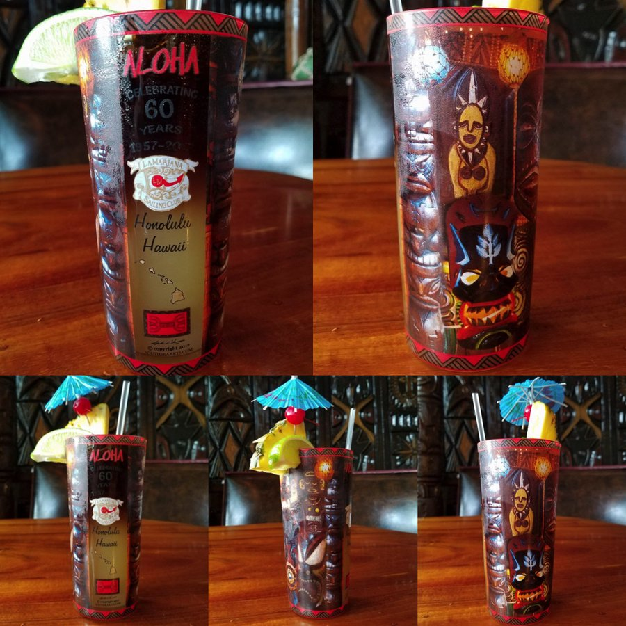 La Mariana Sailing Club Tiki Mugs and Tumblers