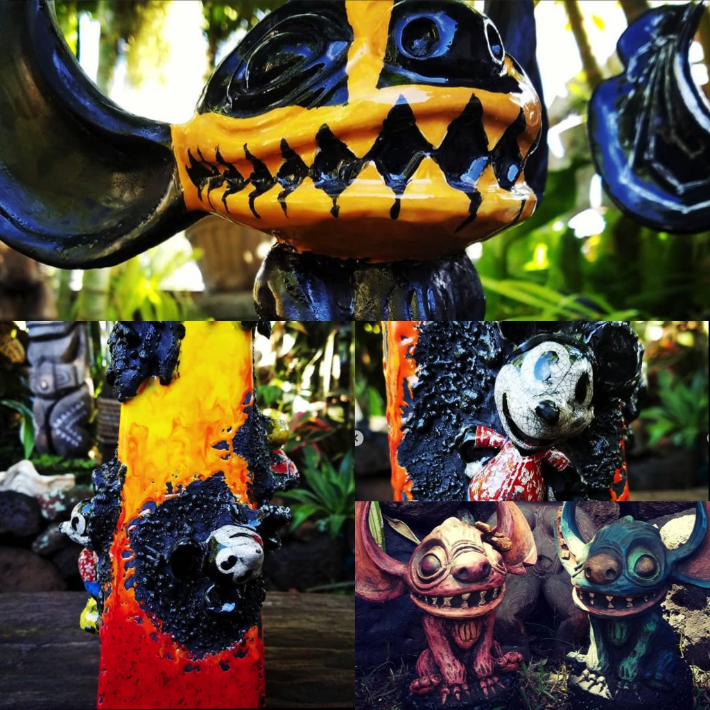 Disney-Tiki-Art-Mickey-Stitch